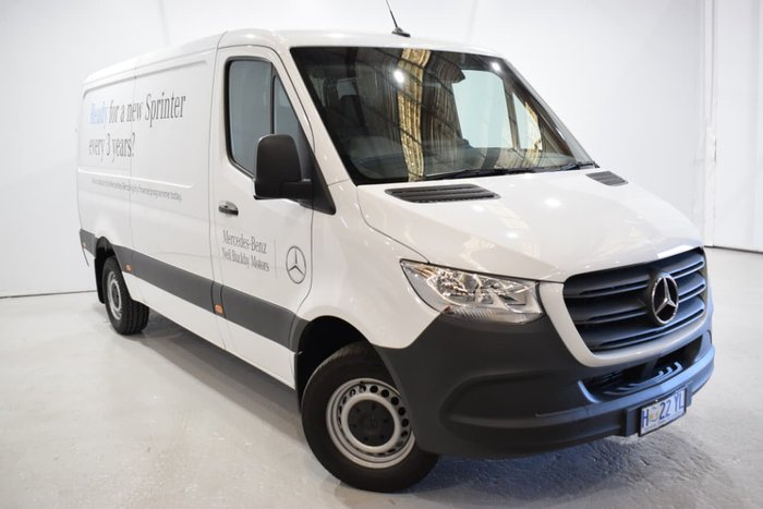 2018 Mercedes-Benz Sprinter 314CDI VS30 White