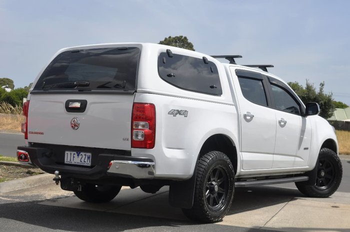 2016 Holden Colorado LTZ RG MY16 White