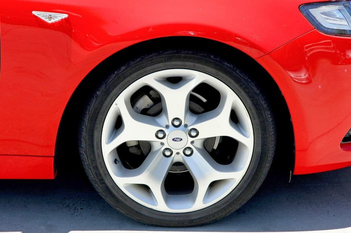 2011 Ford Falcon XR6 FG MkII Red