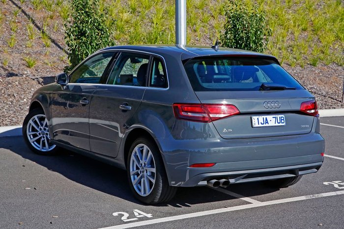 2016 Audi A3 Attraction 8V MY16 Grey