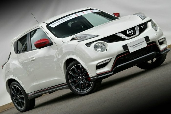 2018 Nissan JUKE Ti-S F15 Series 2 4X4 On Demand IVORY PEARL