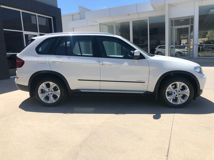 2012 BMW X5 XDRIVE30D E70 MY12 White