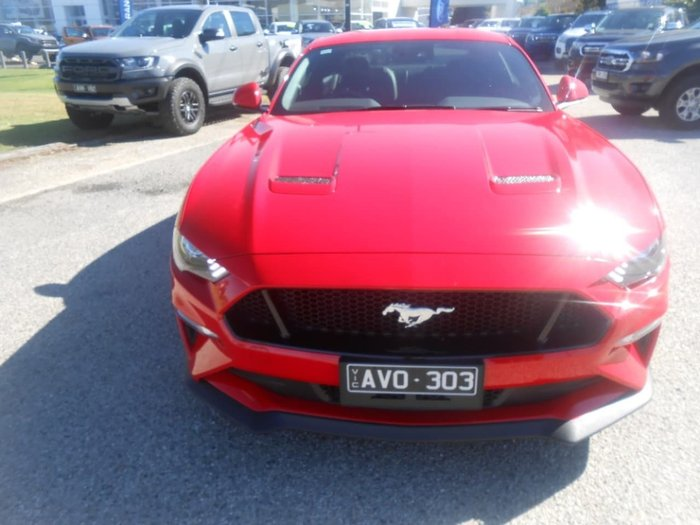 2018 Ford Mustang GT Fastback FM Race Red