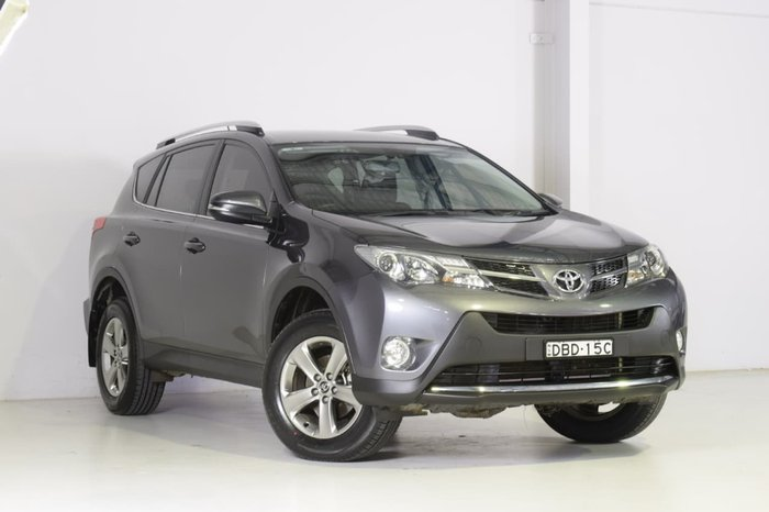 2015 Toyota RAV4 GXL ASA44R 4X4 On Demand Grey