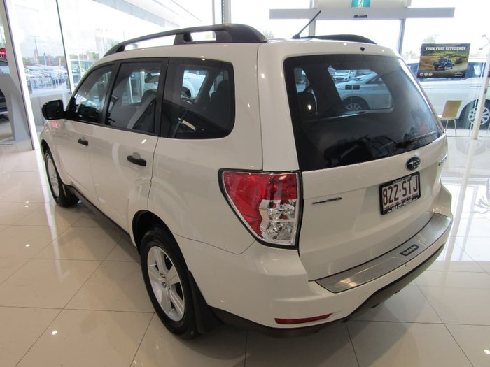 2012 Subaru Forester XT S3 MY12 White