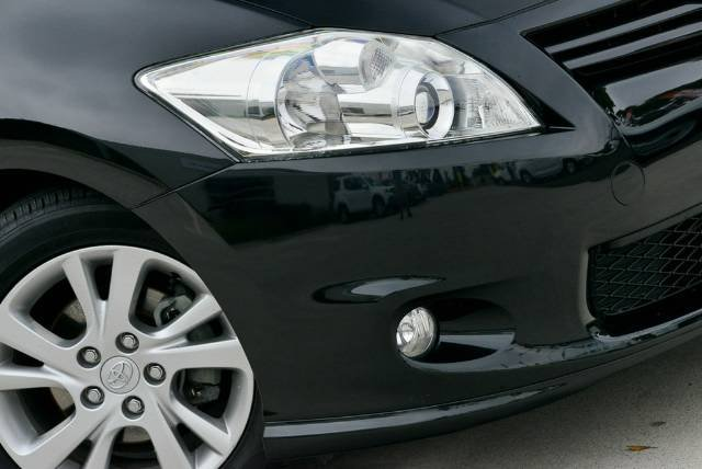 2011 Toyota Corolla Ascent Sport ZRE152R MY11 BLACK