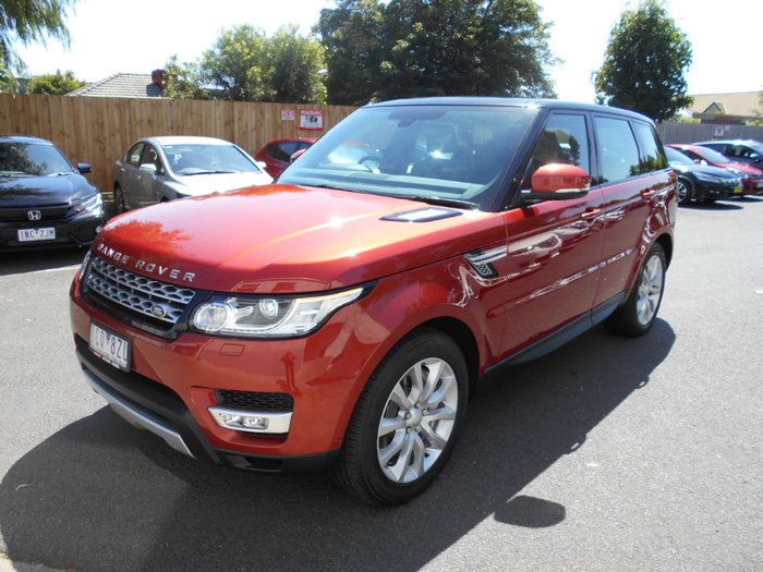 2013 Land Rover Range Rover Sport SDV6 HSE L494 MY14.5 4X4 Constant Red