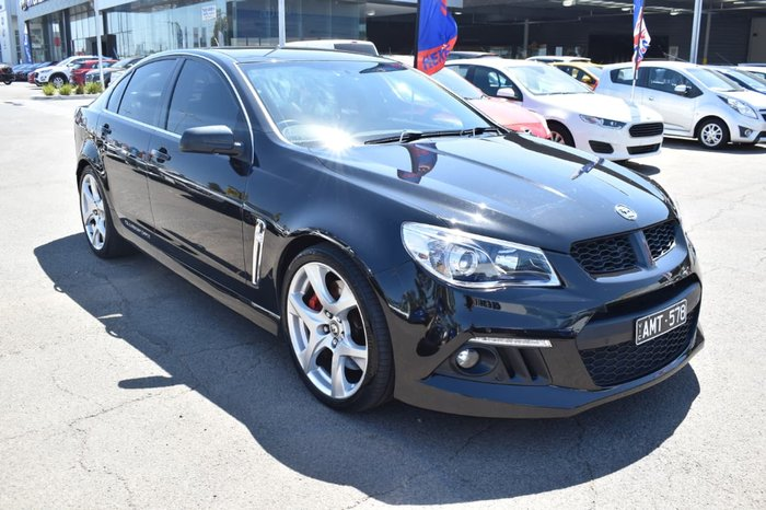 2013 Holden Special Vehicles Clubsport GEN-F MY14 Black