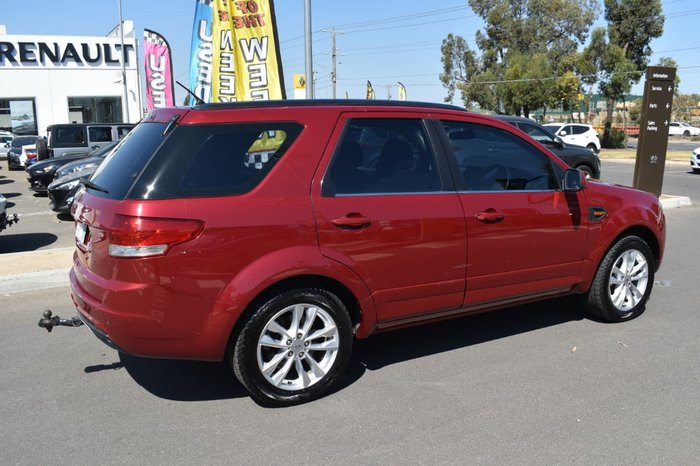 2012 Ford Territory TS SZ Red