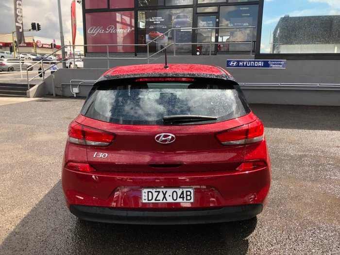 2018 Hyundai i30 Go PD MY18 Red