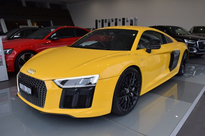 2016 Audi R8 4S MY17 Yellow
