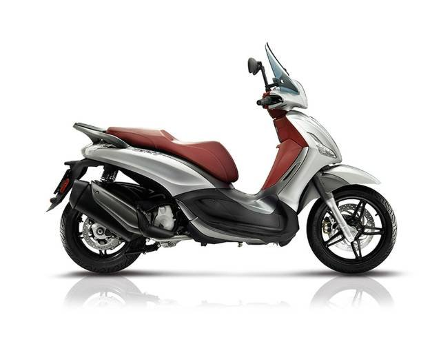 2017 PIAGGIO BEVERLY 350 (BV 350) SCOOTER GREY