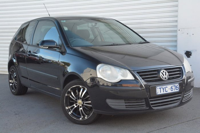 2005 Volkswagen Polo Club 9N MY06 Black