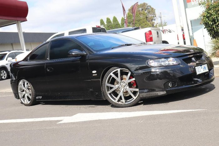 2003 Holden Special Vehicles Coupe GTO V2 Series 2 Black