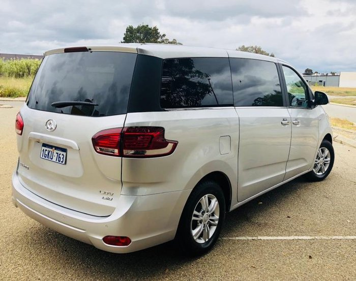 2018 LDV G10 (7 SEAT) SV7A AURORA SILVER