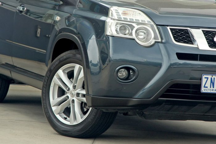2012 Nissan X-Trail ST-L T31 Series IV 4X4 On Demand Blue