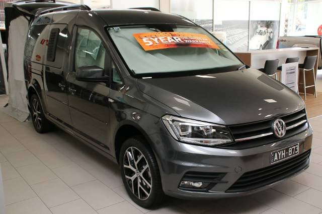 2019 Volkswagen Caddy TSI220 Beach 2K MY19 INDIUM GREY