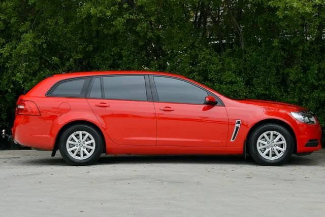 2016 Holden Commodore Evoke VF Series II MY16 RED
