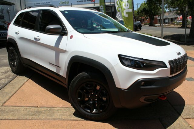 2018 Jeep Cherokee Trailhawk KL MY19 4X4 Dual Range Bright White