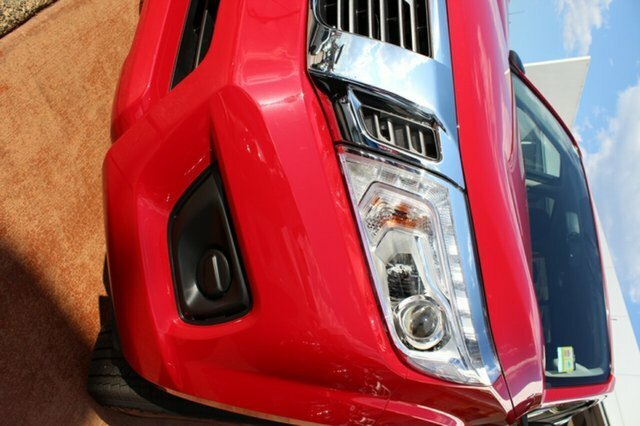 2018 Nissan Navara SL D23 Series 3  4X4 Dual Range BURNING RED