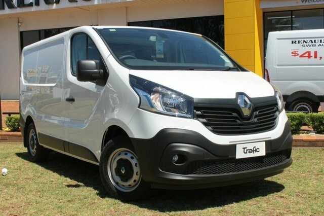 2018 Renault Trafic 103KW X82 Glacier White - Solid