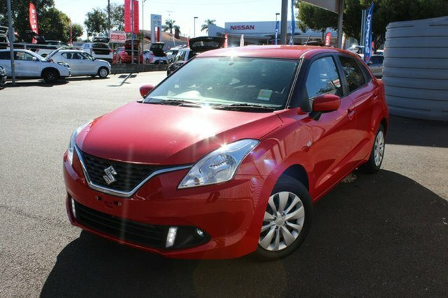 2017 Suzuki Baleno GL EW FIRE RED