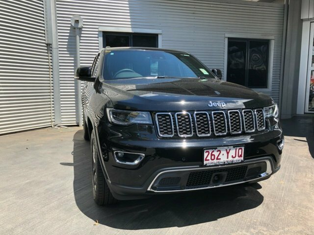2018 Jeep Grand Cherokee Limited WK MY18 4X4 Dual Range Diamond Black