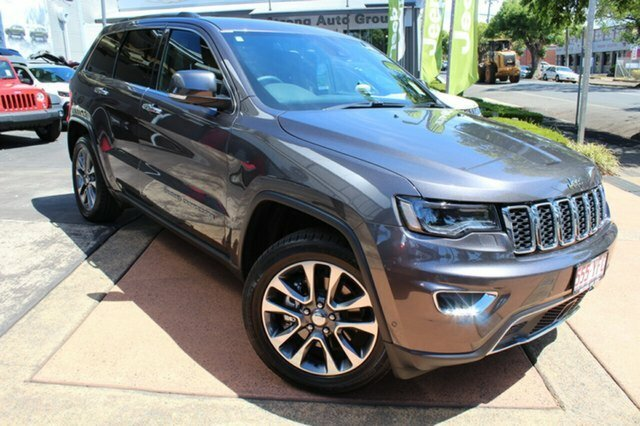 2018 Jeep Grand Cherokee Limited WK MY18 4X4 Dual Range GRANITE CRYSTAL METALLIC