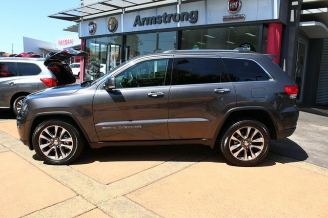 2018 CHRYSLER GRAND CHEROKEE Limited LIMITED 3.0L CRD 8SPD AUTOMATIC WAGON 18MY GRANITE CRYSTAL METALLIC