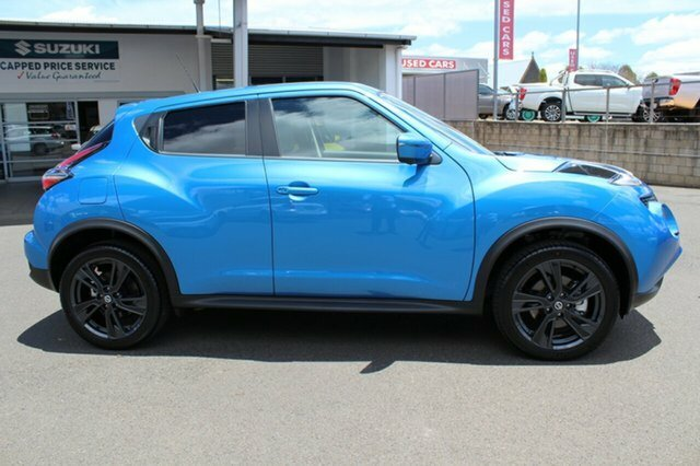2018 Nissan JUKE Ti-S F15 MY18 4X4 On Demand BLUE
