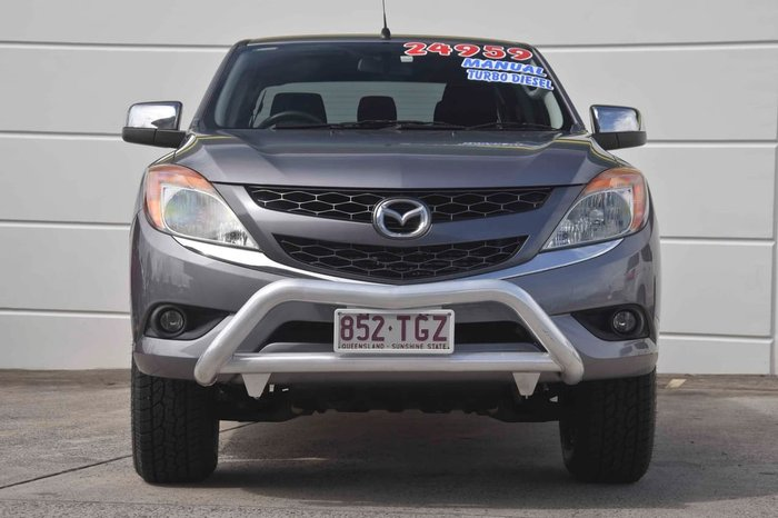 2012 Mazda BT-50 XTR Hi-Rider UP Grey