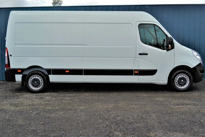 2018 Renault Master MID ROOF LONG WHEELB X62 MINERAL WHITE