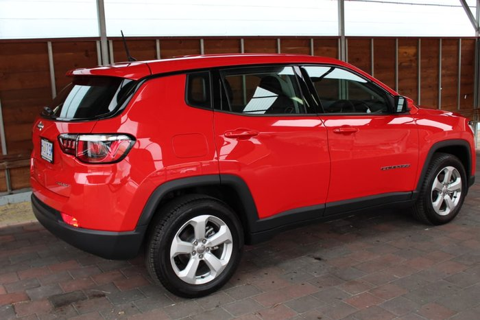 2018 Jeep Compass Sport M6 MY18 Red