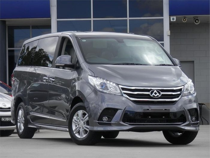 2018 LDV G10 EXECUTIVE (9 SEAT) SV7A LAVA GREY