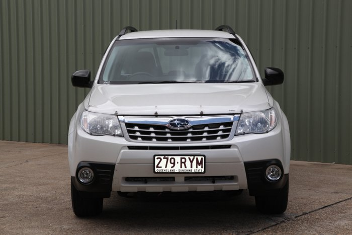 2012 Subaru Forester X S3 MY12 Four Wheel Drive WHITE