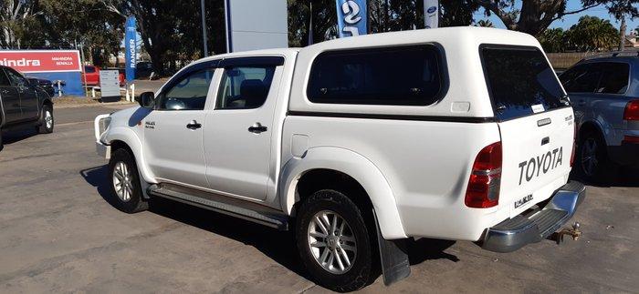 2012 Toyota Hilux SR KUN26R MY12 4X4 White