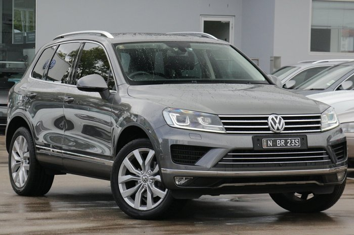 2015 Volkswagen Touareg V6 TDI 7P MY15 Four Wheel Drive GREY