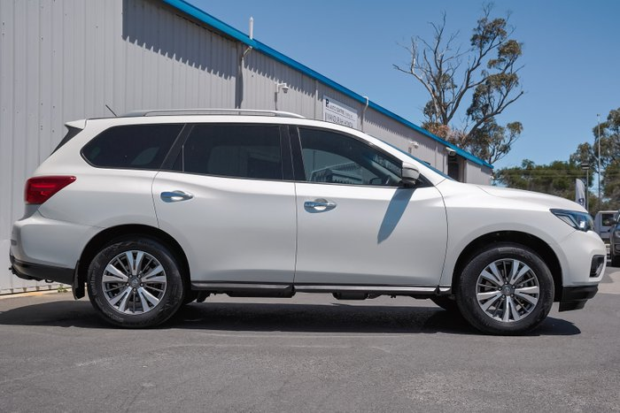 2018 Nissan Pathfinder ST R52 Series II MY17 4X4 On Demand IVORY PEARL