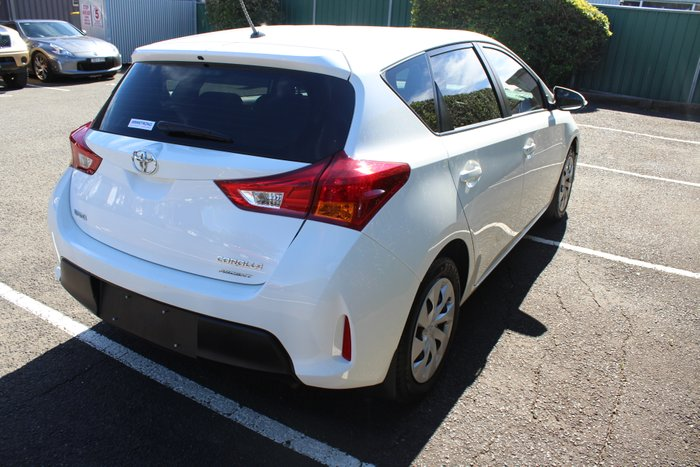 2014 Toyota Corolla Ascent ZRE182R WHITE