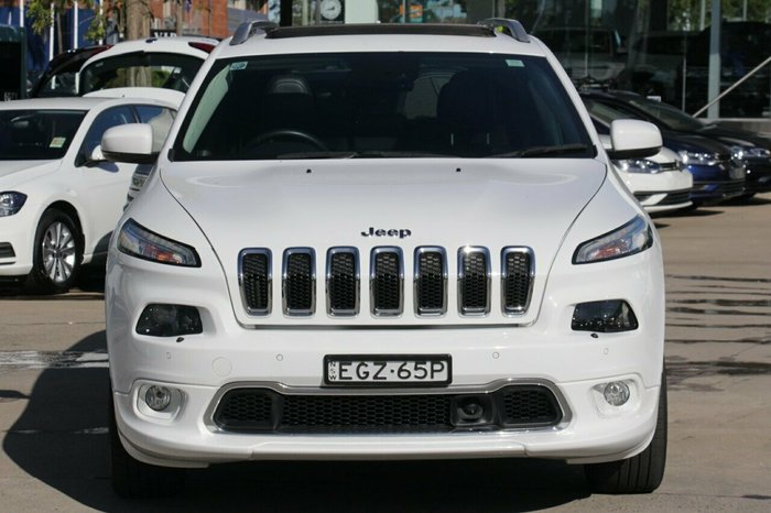 2016 Jeep Cherokee Limited KL MY16 4X4 On Demand white
