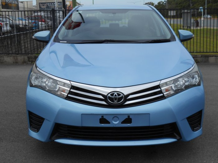2015 Toyota Corolla Ascent ZRE172R BLUE