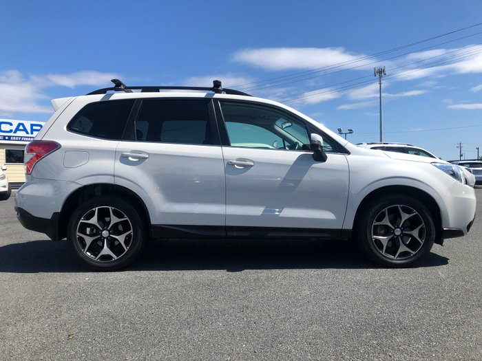 2015 Subaru Forester 2.0D-S S4 MY15 AWD WHITE