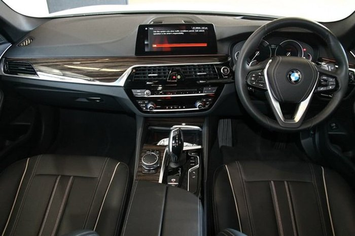 2017 BMW 520d LUXURY LINE G31 White