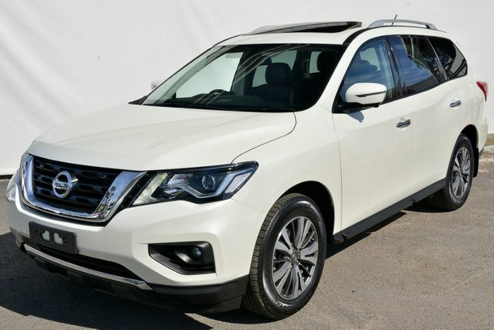 2017 Nissan Pathfinder ST-L R52 Series II MY17 4X4 On Demand IVORY PEARL