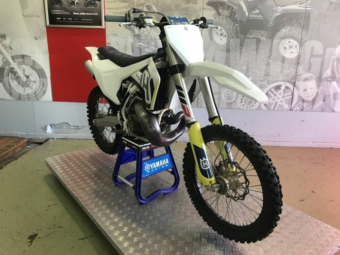 2018 HUSQVARNA TC250 White