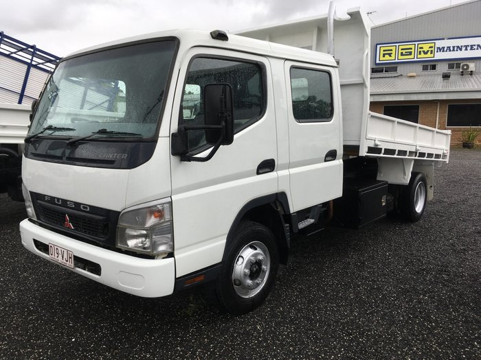 2007 Mitsubishi Canter 715 FE CREW CAB TIPPING TRAY