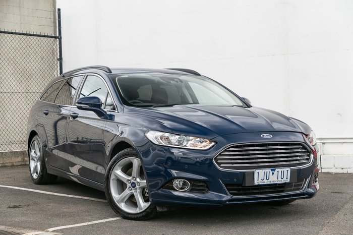 2017 Ford Mondeo Trend MD MY17 Blue