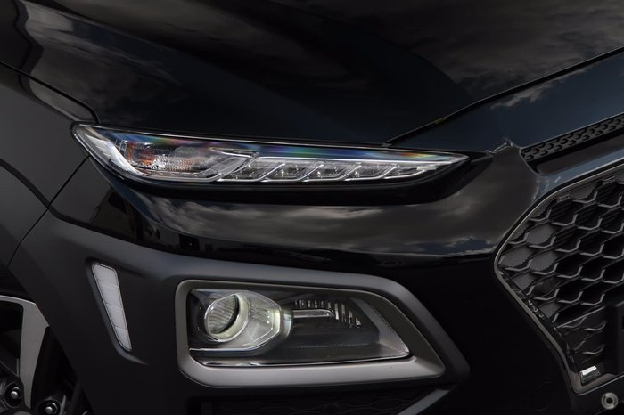 2018 Hyundai Kona Highlander OS MY18 4X4 On Demand Black