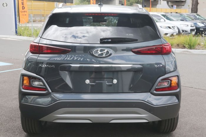 2018 Hyundai Kona Elite OS MY18 4X4 On Demand Grey