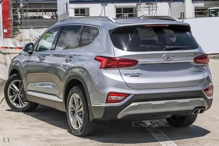 2018 Hyundai Santa Fe Highlander TM MY19 4X4 On Demand Silver
